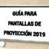 Guía para comprar pantallas de proyección 2019