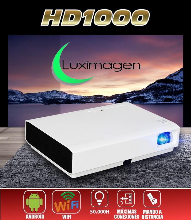 Luximagen HD1000 con Wifi, Android, 3.200 lumenes