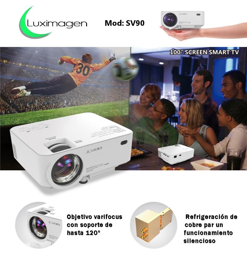 proyector de video luximagen sv90