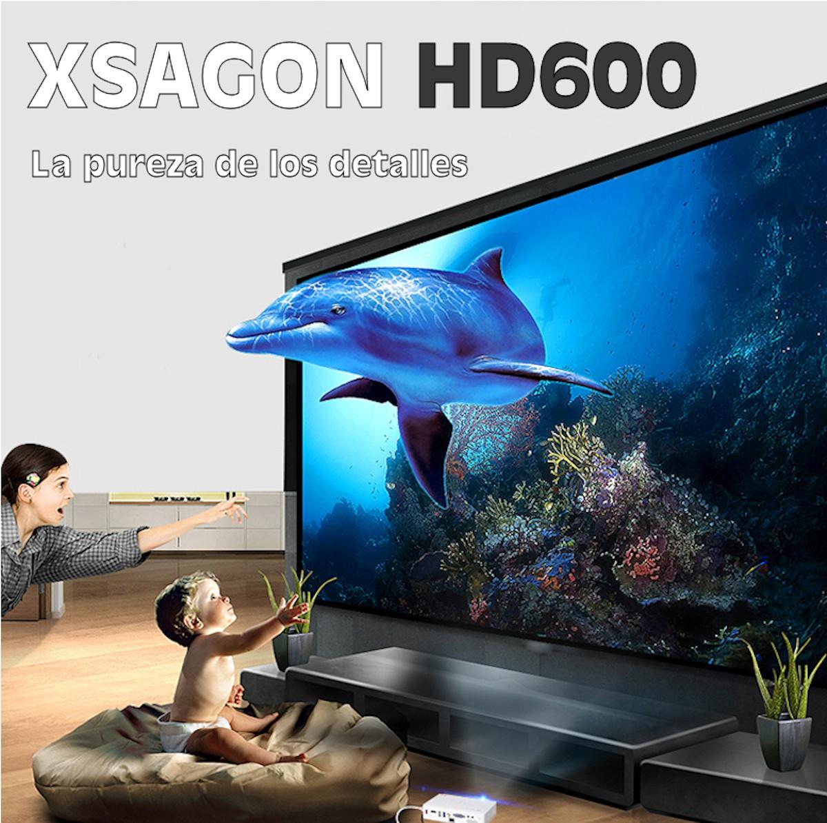 Xsagon HD600 la pureza de los detalles