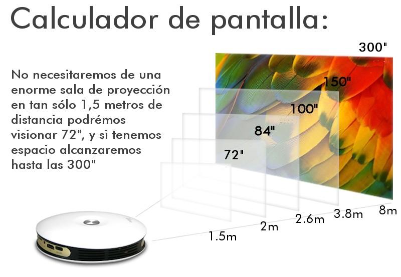 El Seelumen 500HD es muy ligero y transportable a cualquier sitio gracias a su batería