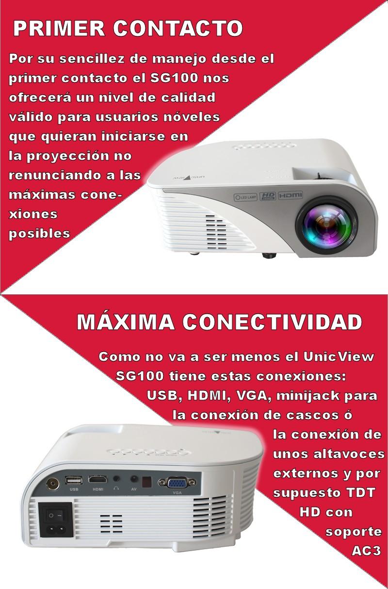 el unicview sg100 tiene un sintonizador de television incorporado para visualizar contenido de la televisión directamente, esto nos evitará conectar un sintonizador de televisión externo
