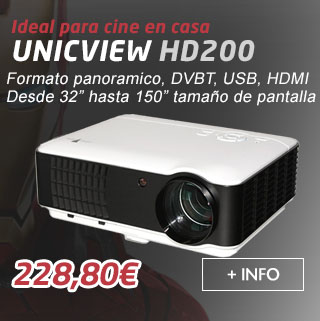 Unicview HD200 con 2.800 lumenes