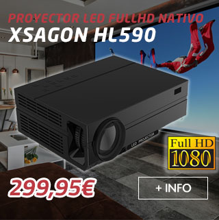 proyector fullhd led xsagon hl590