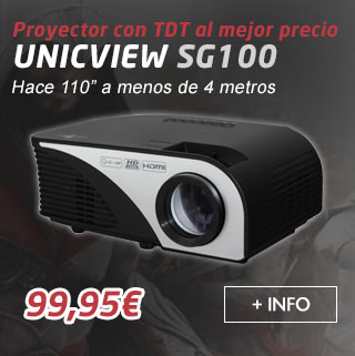 UnicView SG100 con TDT HD