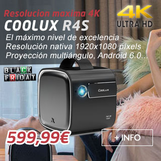 Black friday Coolux R4S