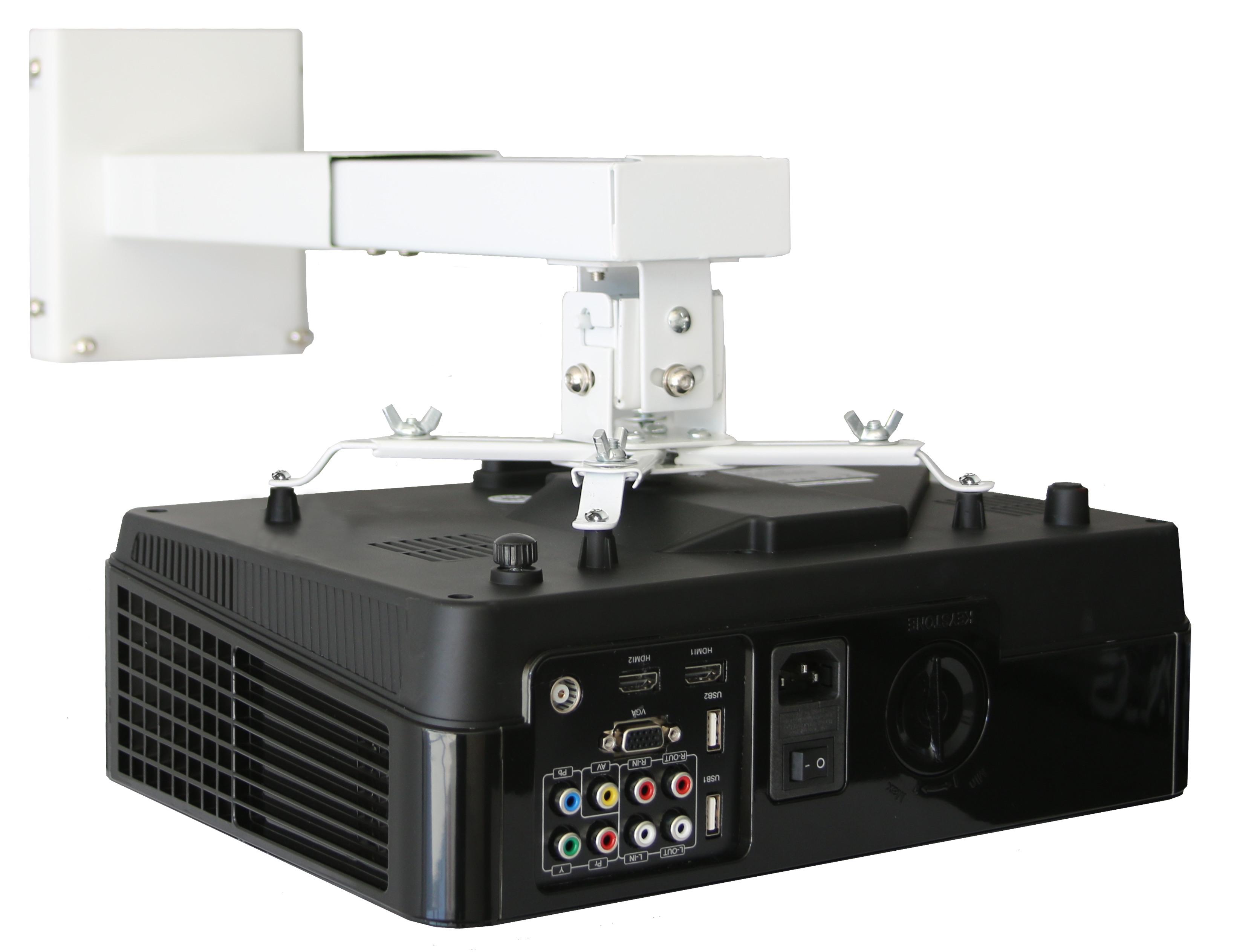Soporte de pared universal para proyector 115 hasta 153cm - Soporte pared proyector ...