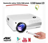 Seelumen FH800 FULLHD 6.500 lumens with Android 6.0 white