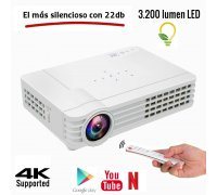 Luximagen HD1100 DLP 3.200 lúmenes Android 6.0 Bluetooth Wifi 5G