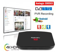 Android box 7.1.2 con TV TDT