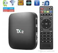 Android box MOD TX2 version R2 ideal para proyector, 2GB de RAM,