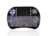 Mini keyboard and touchpad for projector