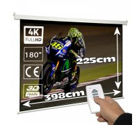 "Electric projector screen 150"" 4:3"