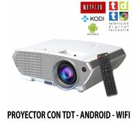 proyector barato Luximagen SV350 con TDT, Android, Wifi