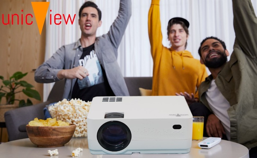 cine en casa unicview hd450 con android smart amazon prime video compatible netflix ac3 dolby