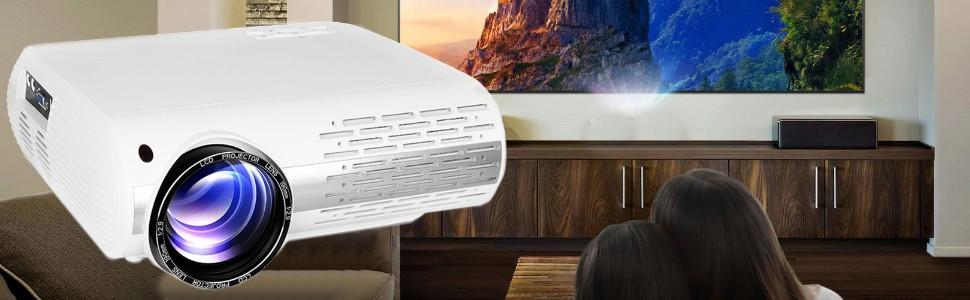 proyector para cine en casa seelumen fh800 fullhd 4k soportado