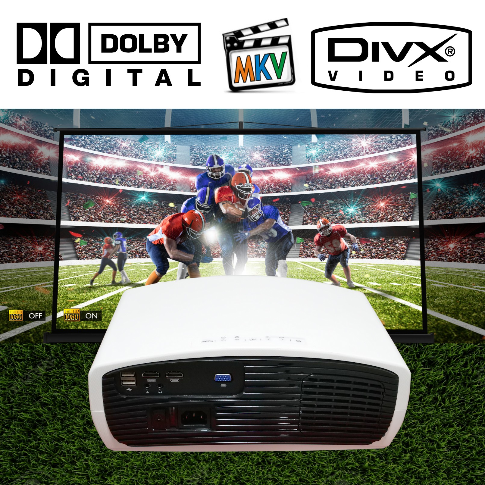 decodificador dolby digital ac3 soportado reproductor multimedia mkv avi divx 1080p 4k imagenes