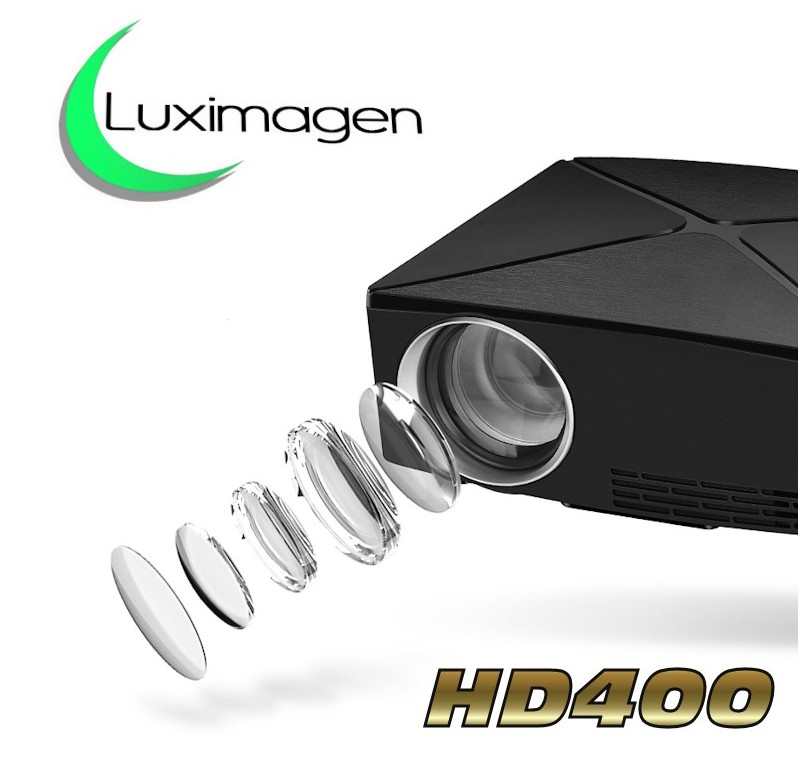 videoproyector de alta definicion compatible con fullhd Luximagen HD400