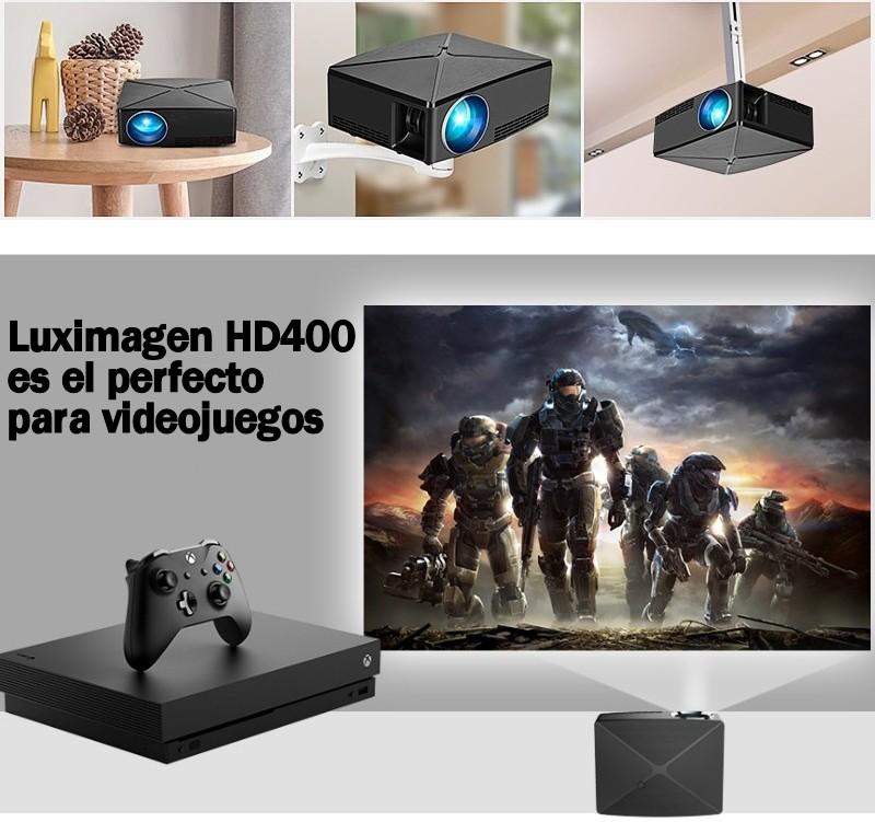Luximagen HD400 es el perfecto aliado para videojuegos